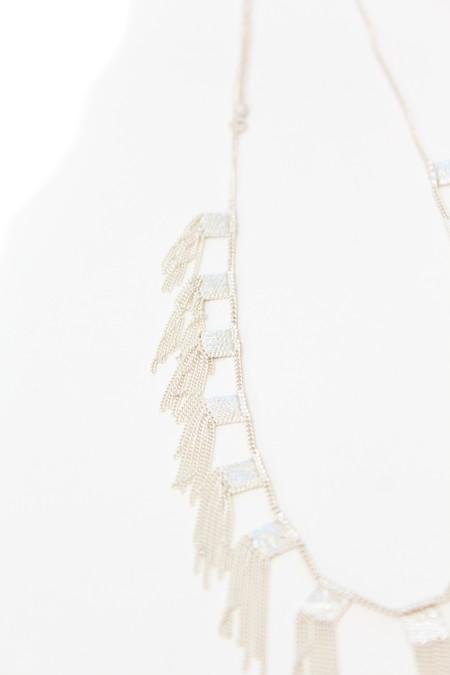 Hannah K Sterling Silver Hula Necklace