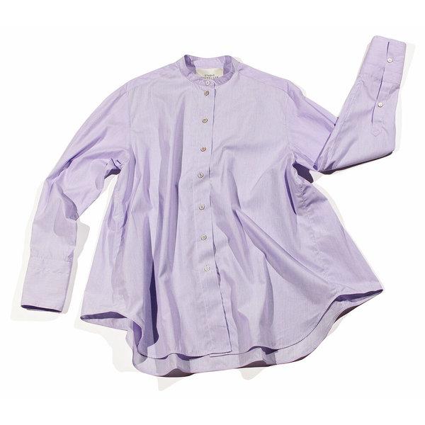 Studio Nicholson Asuka Trapeze Shirt - Lilac
