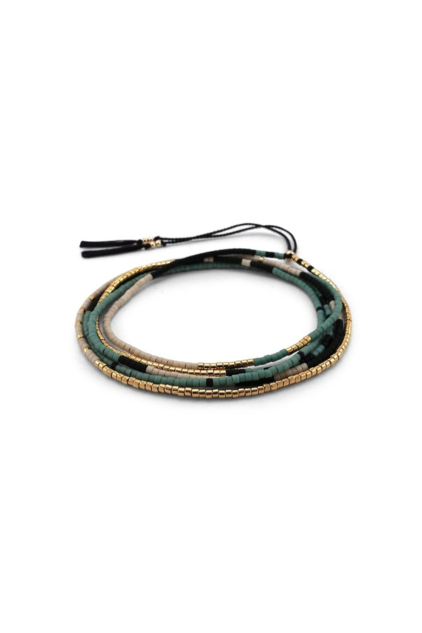 abacus row Sonoran Wrap Necklace - Oasis