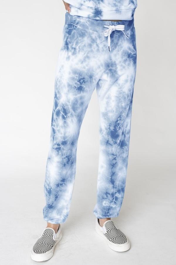 Stateside Fleece Tie Dye Pants - Clearwater