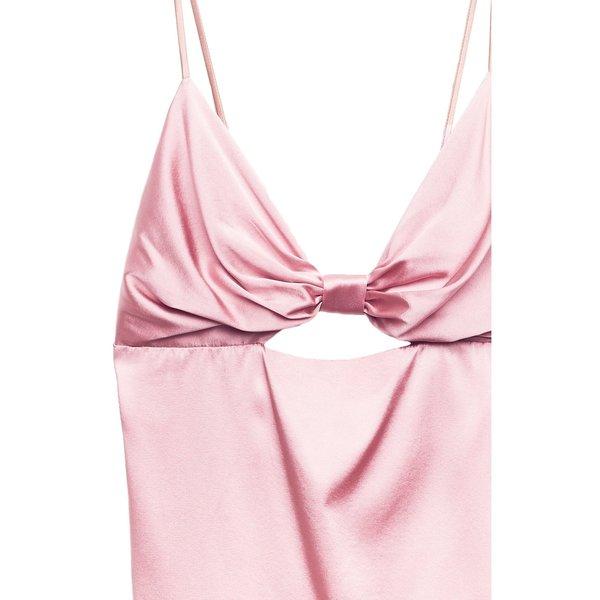 fleur du mal Bow Tie Cami - Rose Pink