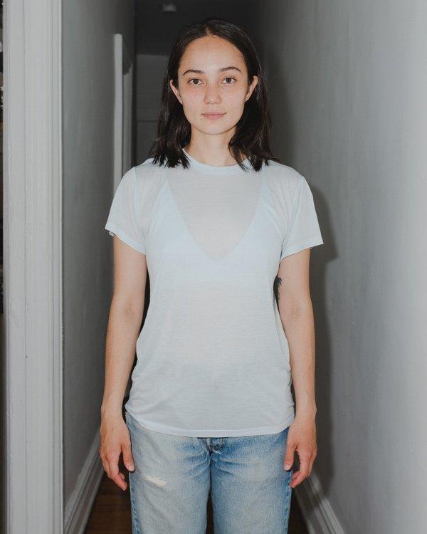 Baserange Tee Shirt -  Ice Blue