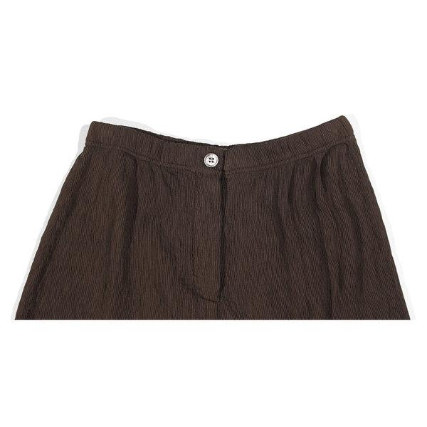 Raquel Allegra Cropped Pant - Dark Olive