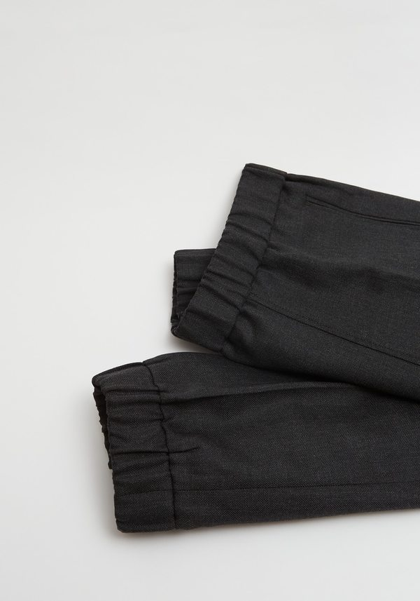 Ganni Wool Suiting Jogger - Noir