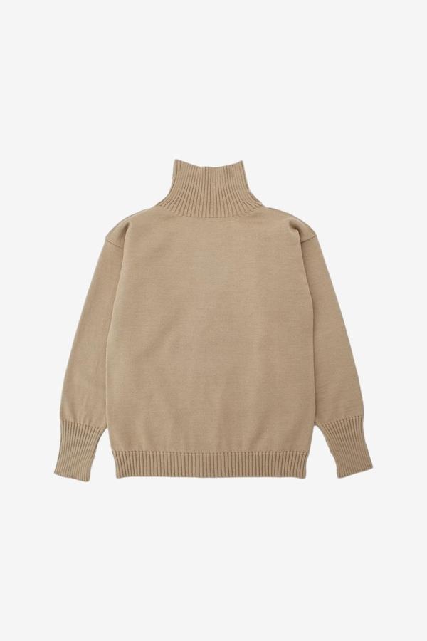 Andersen-Andersen Seaman Turtleneck Sweater - Camel