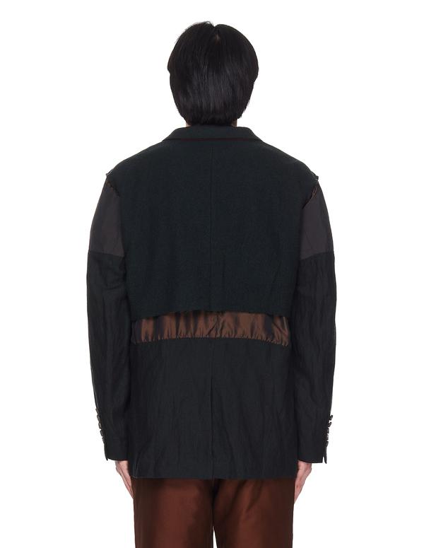 Ziggy Chen Wool Cut Out Jacket