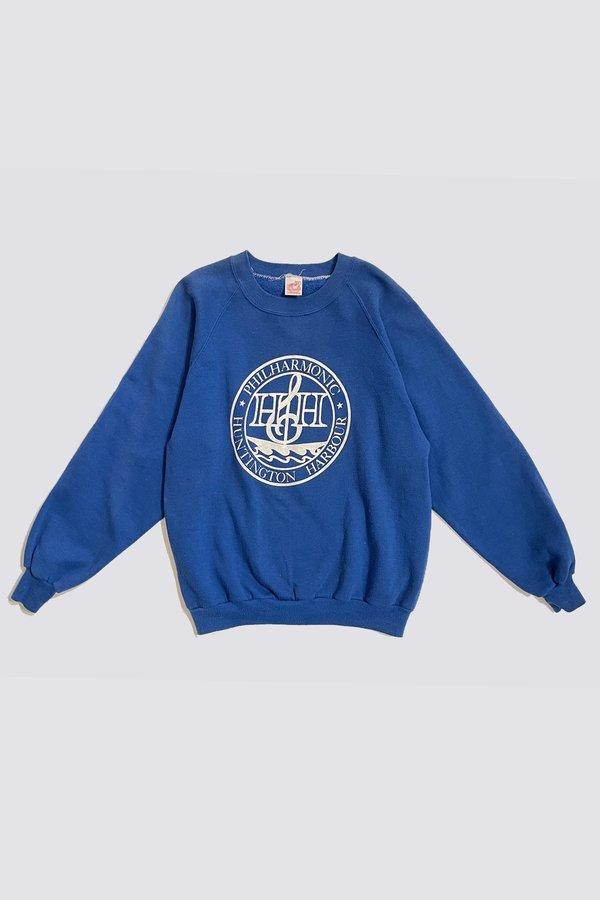 Vintage Philharmonic Sweatshirt - Blue