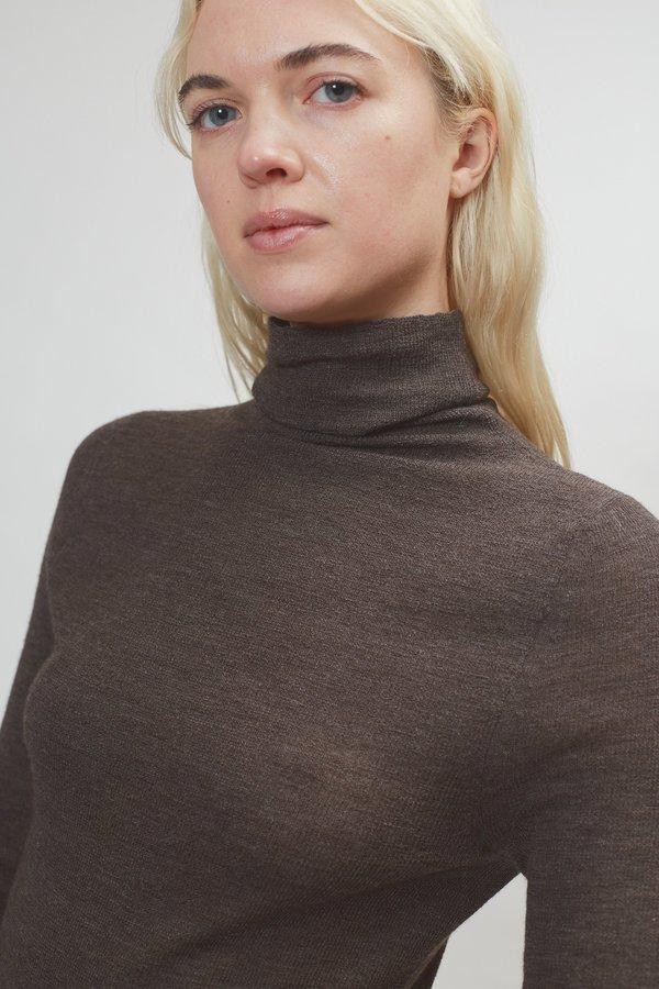 Lauren Manoogian Rib Turtleneck - Raku