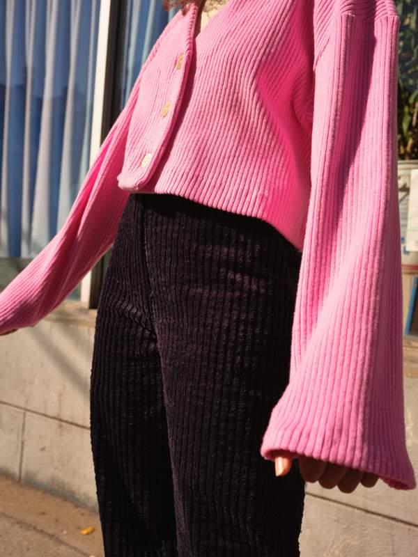 Odeyalo CAPITAL cardigan - pink