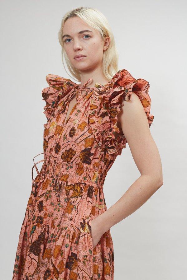 Ulla Johnson Arina Dress - Blush Floral