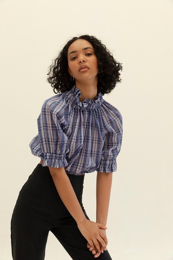 Muse the Label Alice Blouse - Check
