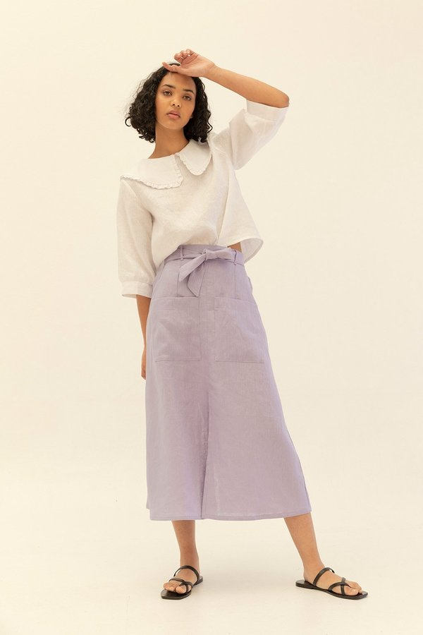 Muse the Label Holly Skirt - Lilac