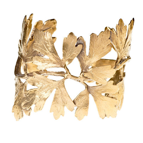 Alkemie Gingko Leaf Cuff