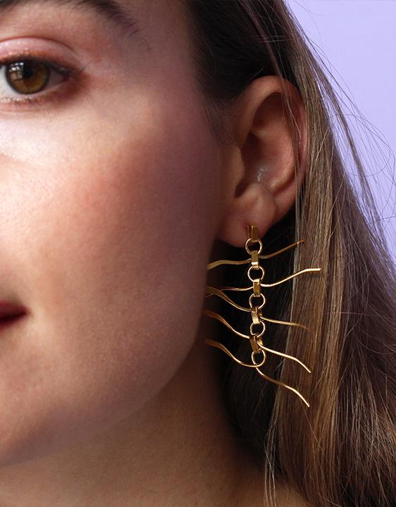 Alynne Lavigne Wobble Earrings
