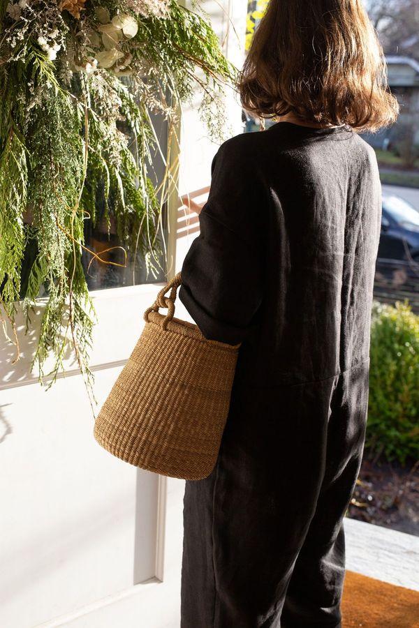 TWENTY ONE TONNES Egg Basket - natural