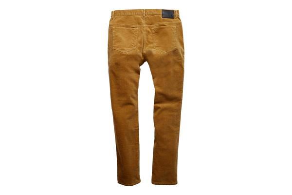 Grayers Burlington Corduroy 5 Pockets Pants - Saddle
