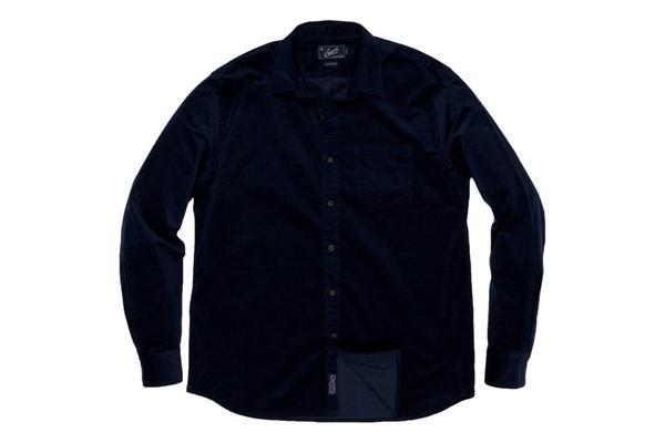 Grayers Sutherland Stretch Corduroy Shirt - Caviar