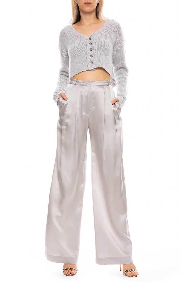 SABLYN Vera Silk Pant - Fawn
