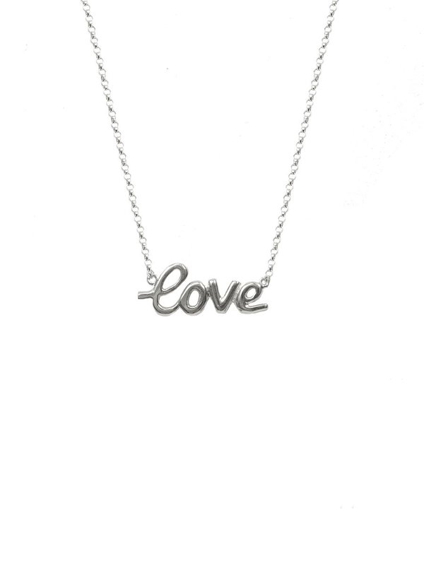 CAMPISE Love Necklace - Yellow Gold