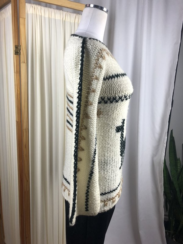 Vintage Alpaca Sweater (S)