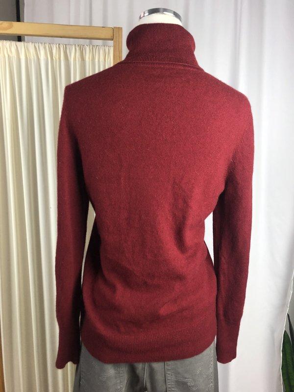 Vintage Cashmere Turtleneck - Red