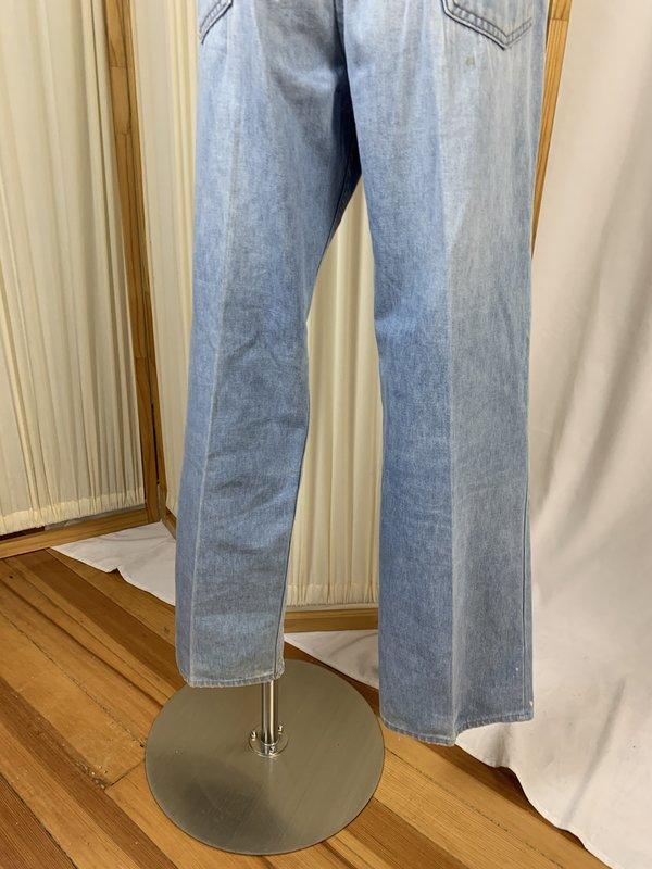 Vintage Patched Levi's  - Blue