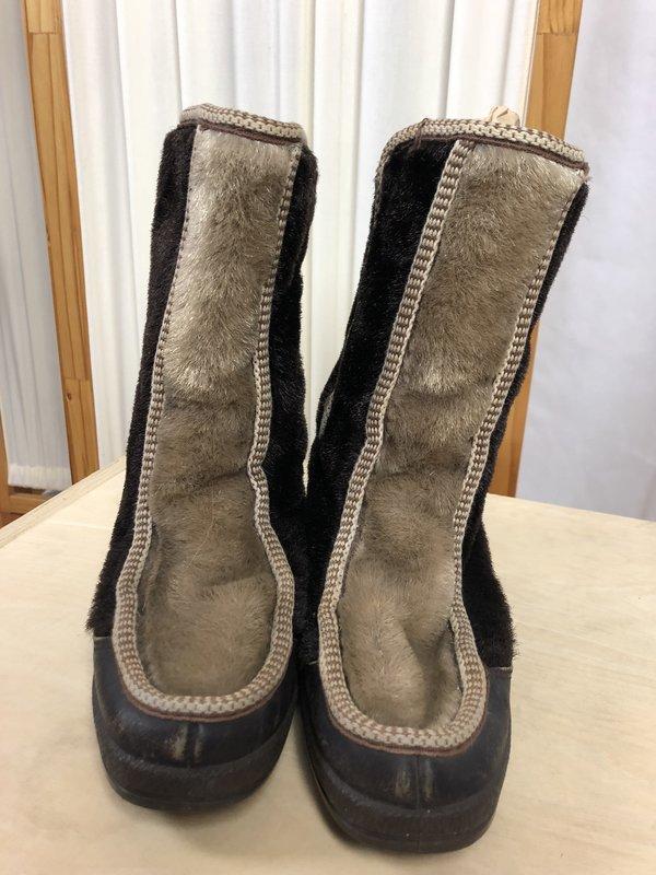 Vintage Snowland Boots - Brown/Tan