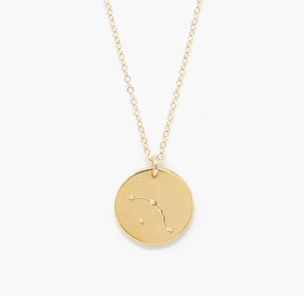 Able Constellation Necklace - Aries