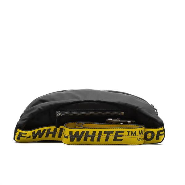 OFF-WHITE OW logo fanny pack - black