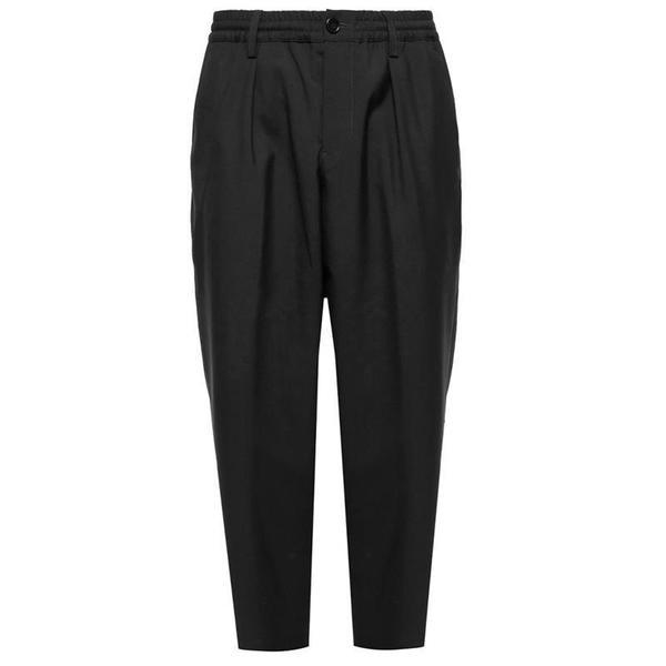 MARNI Trousers 'Black / Grey'