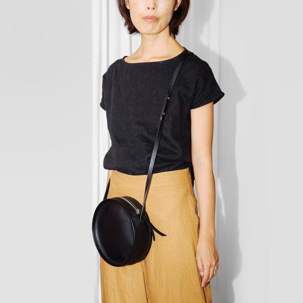 Circle Bag in Black / Poketo