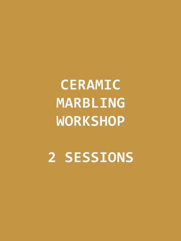 Marbling Workshop {Sundays Feb 7th & 14th}
