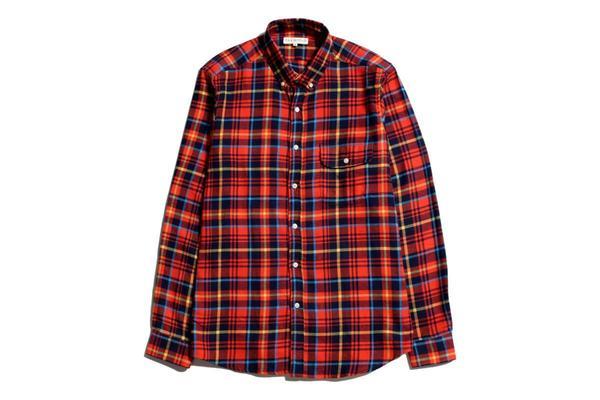 Far Afield Larry Shirt - Red