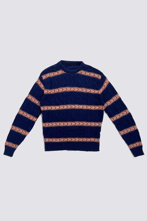 Vintage XO Sweater - Stripe
