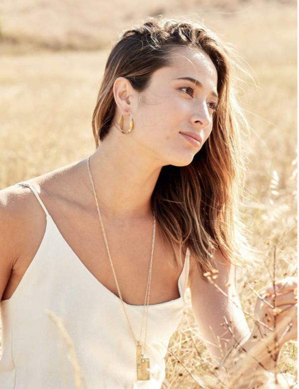 Marisa Mason Pandora Earrings - Brass