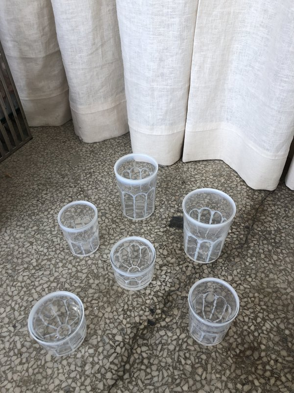 VINTAGE Ri-Ri-Ku PAOLA NAVONE GLASSWARE