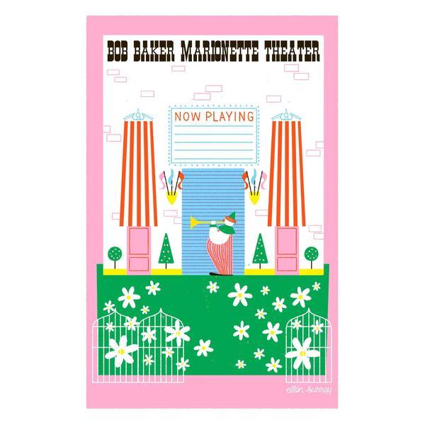 Ellen Surrey - Bob Baker Marionette Theater - Framed Print