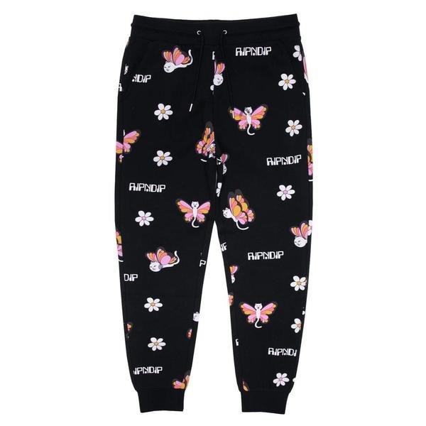 Butterfly Sweat Pants 'Black'