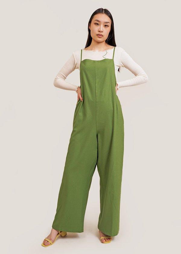 Baserange Yumi Jumpsuit - green