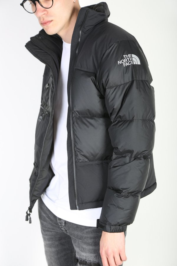 THE NORTH FACE STEEP TECH DOWN JACKET - black