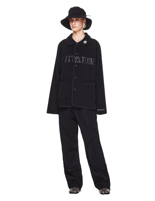 99% IS- ATT 1% Printed Shirt - Black