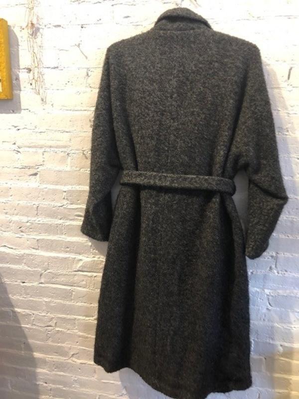 Samuji Italy Coat - charcoal twill