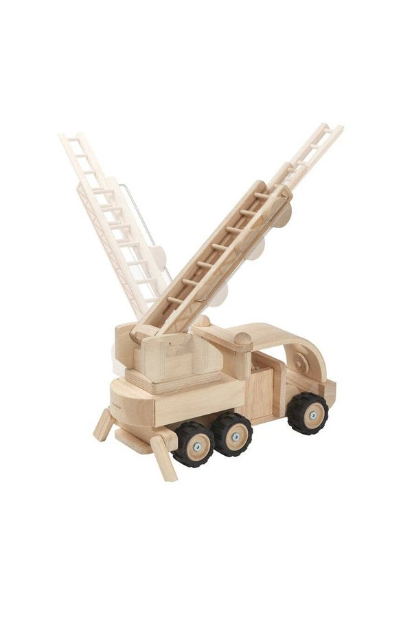 Kids Plan Toys WOOD FIRE TRUCK