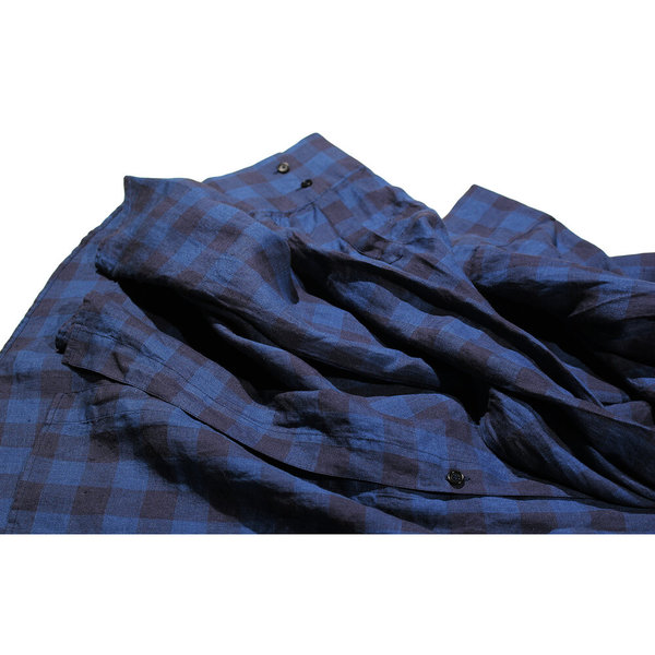 Henrik Vibskov Towel Shirt Dress - Indigo Wash
