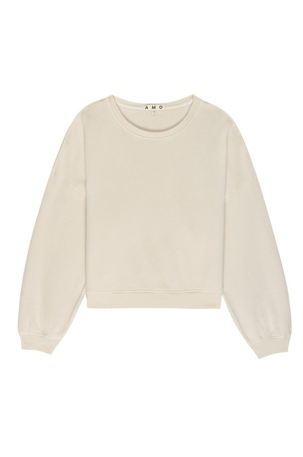 amo denim Easy Sweatshirt - Bare