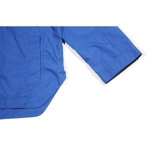 Rodebjer Maithe Shirt - Workwear Blue Cotton