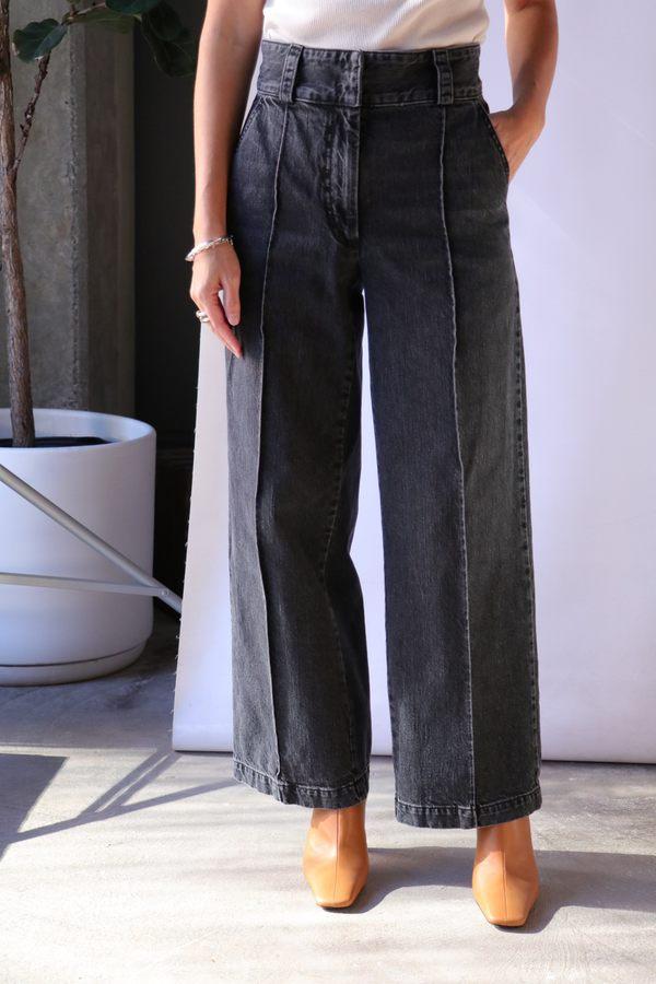 Rachel Comey Elio Pant - Washed Black