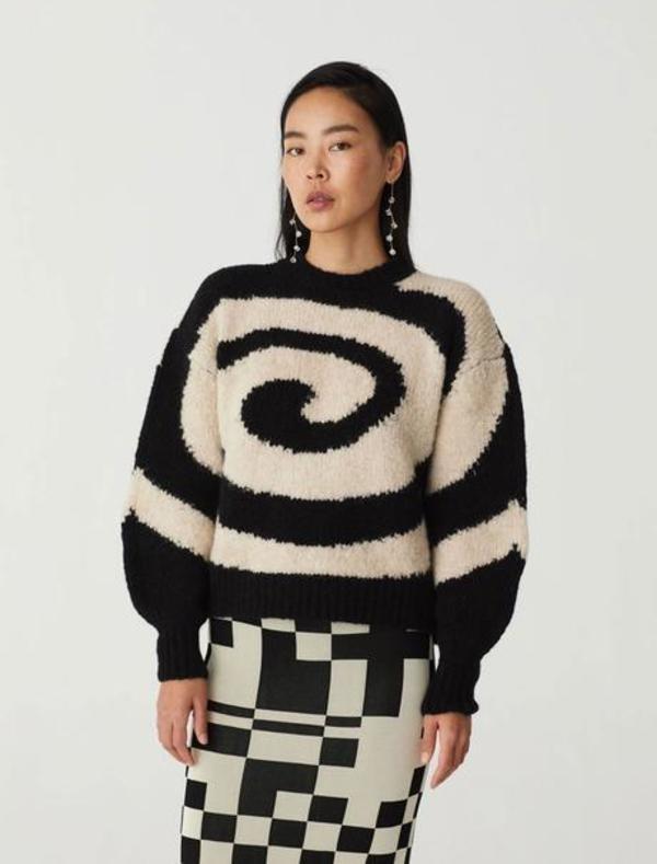 Paloma Wool TWISTER sweater - Black