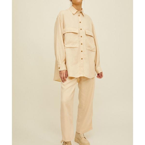 Rita Row Olivia Shirt - Sand