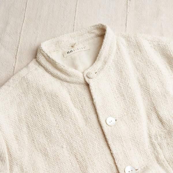 11.11 / Eleven Eleven  Undyed Organic Cotton Handloomed Jacket